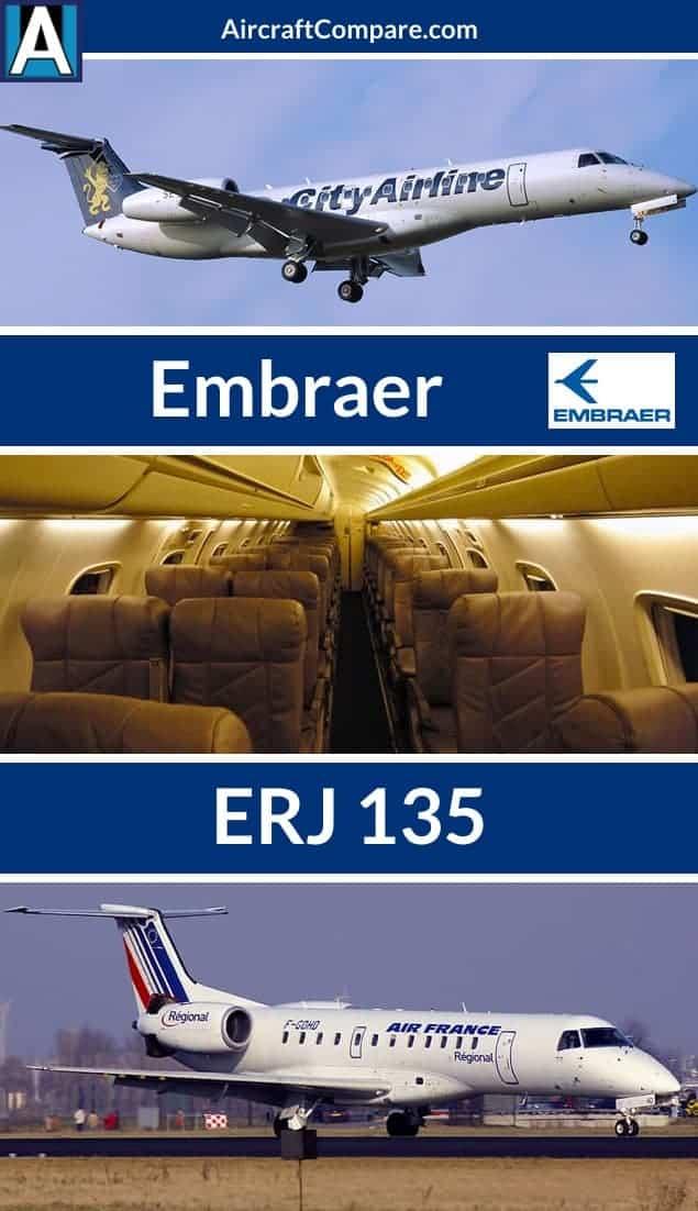 Embraer erj 135 Pinterest