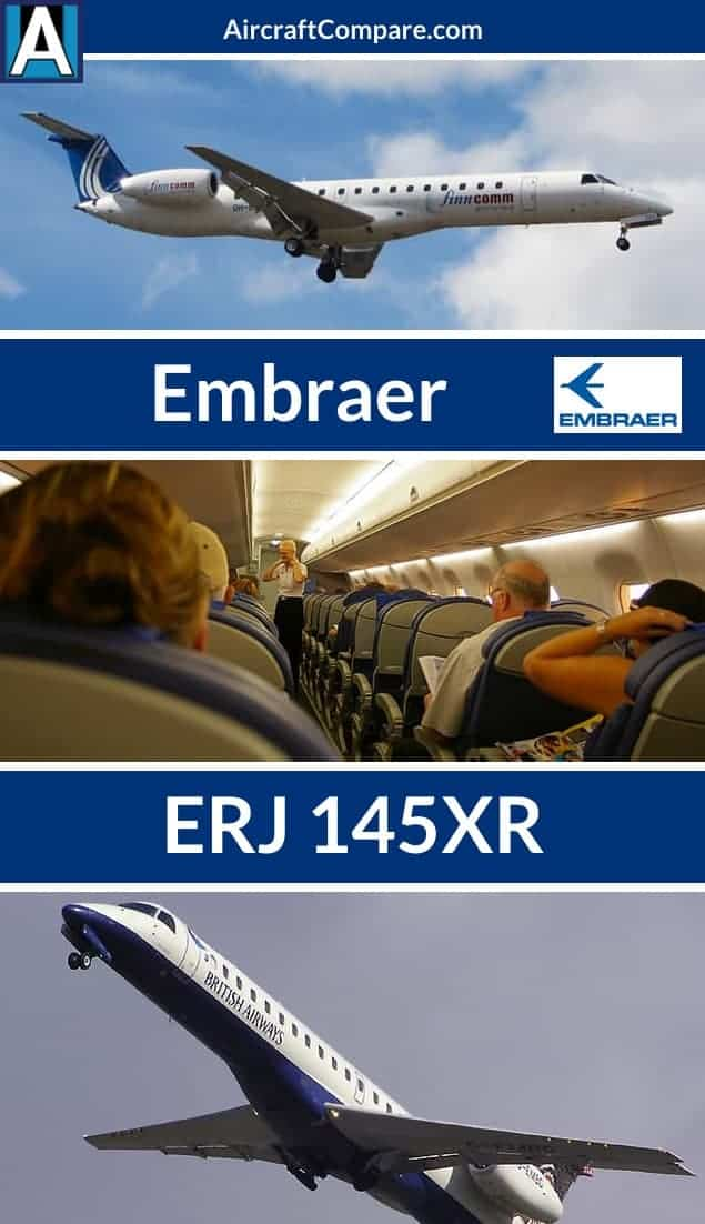 Embraer erj 145 xr Pinterest
