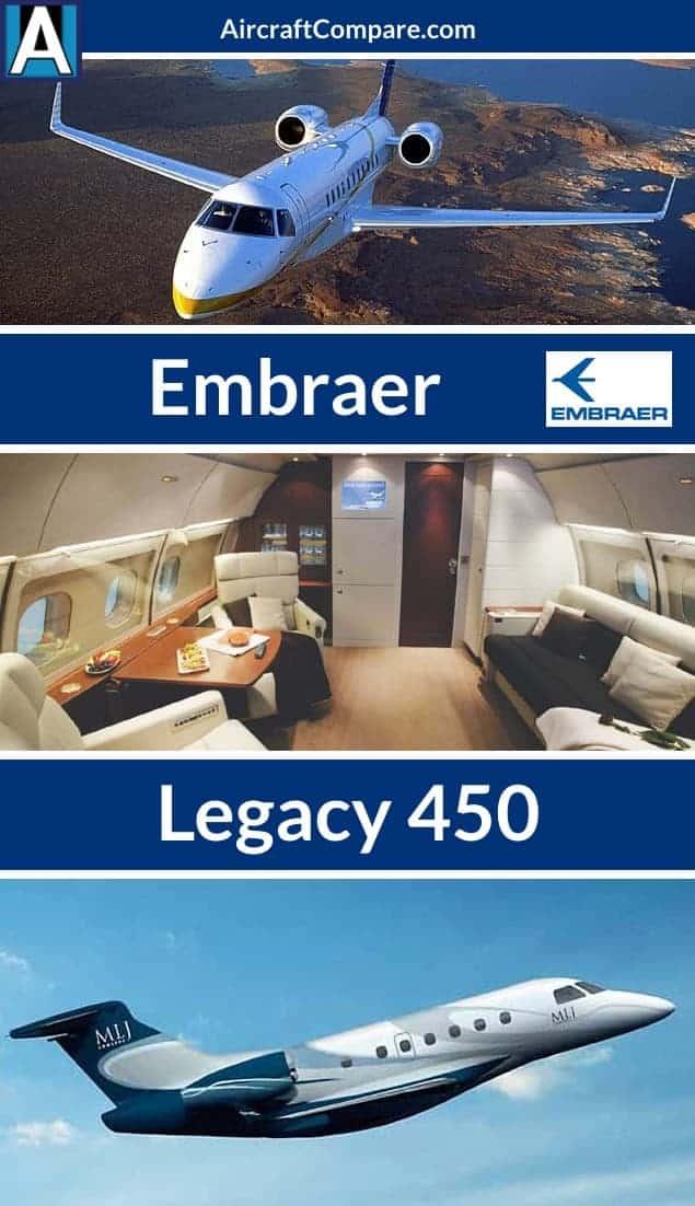 Embraer legacy 450 Pinterest