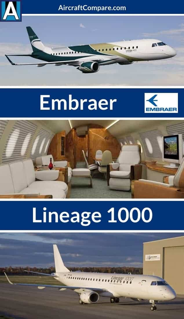 Embraer lineage 1000 Pinterest