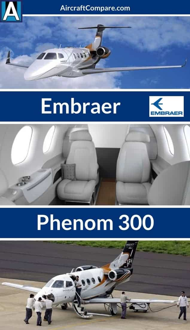 Embraer phenom 300 Pinterest