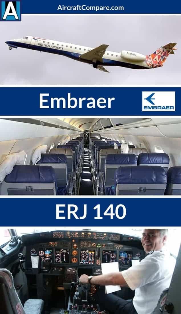 Embraer erj 140 Pinterest