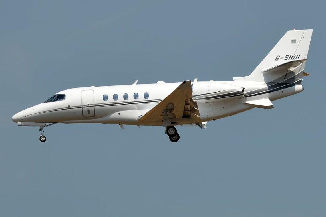 G-SHUI Cessna Citation Latitude 680A