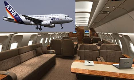 Airbus A318 Elite ACJ featured