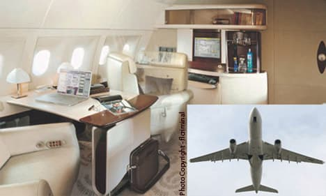 Airbus A330 Corporate Jet interior featured