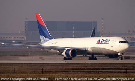 Boeing 767 Freighter delta cargo