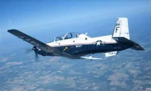 Beechcraft T-6C Military Trainer