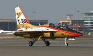 Lockheed Martin T50 Golden Eagle