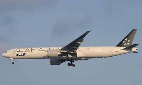 Boeing 777-200ER star alliance