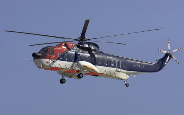 Upgraded Sikorsky S-61 for U.S. State