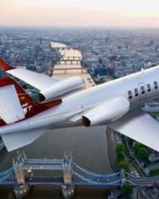 London Air Orders 5 Learjet 75