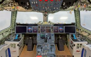 A350 XWB Flight Deck Cockpit