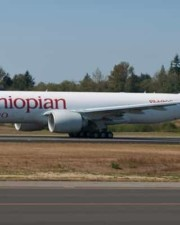 1st Boeing 777 Freighter to Africa