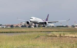 1st THAI Airbus A350 XWB Takes Flight