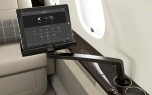 New Cabin Management System for Bombardier Global 5000 and Global 6000