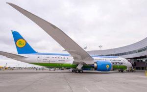 Uzbekistan Gets Its First Boeing 787 Dreamliner