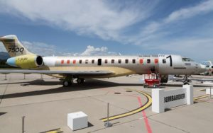 Bombardier Global 7500 Aircraft Continues Successful Worldwide Tour to Italy