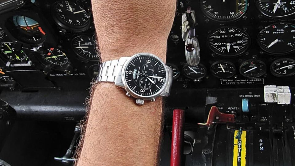 pilot watch chronograph