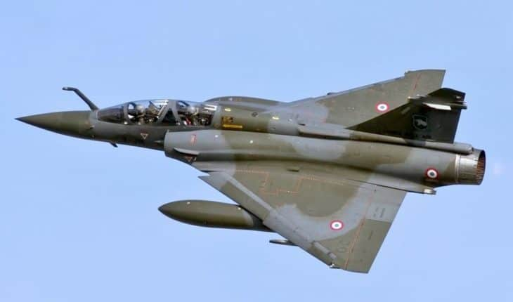 Dassault Mirage 2000N delta wings