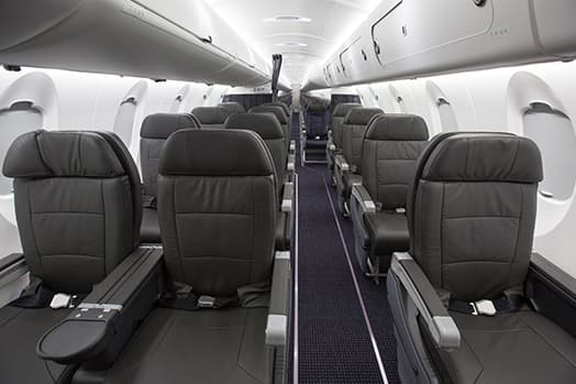 american airlines crj 900 business class interior