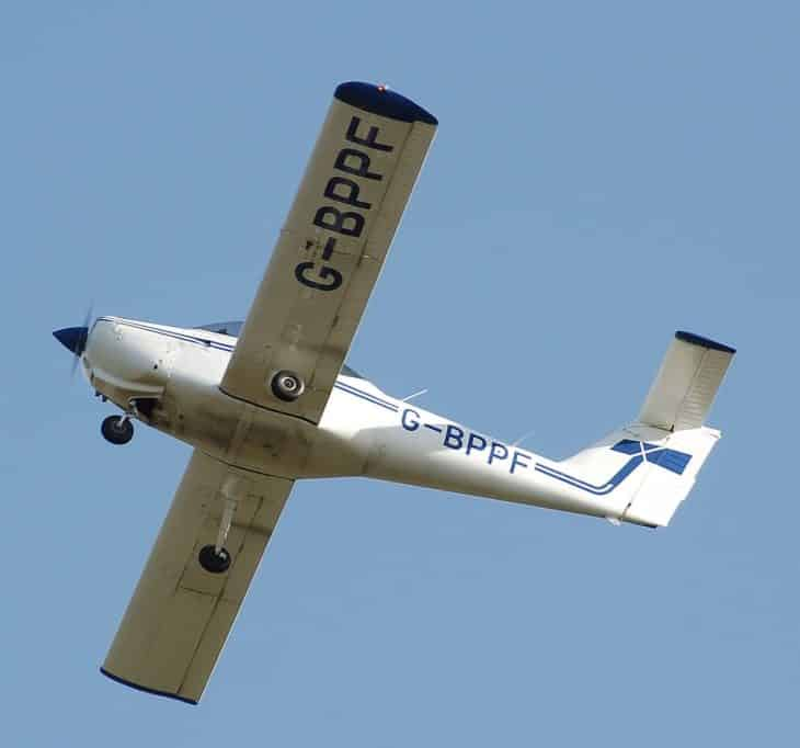 piper pa 38 rectangular wing