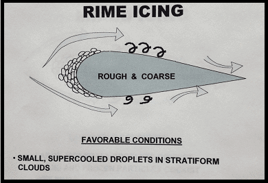 rime icing effects