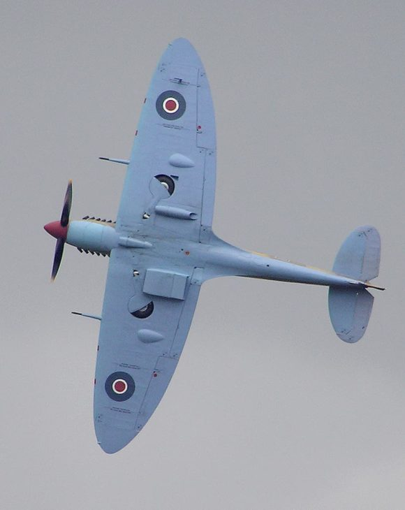 supermarine spitfire elliptical wings