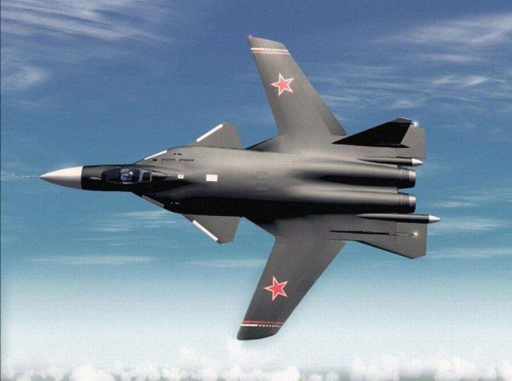 sukhoi su 47 berkut swept forward wings