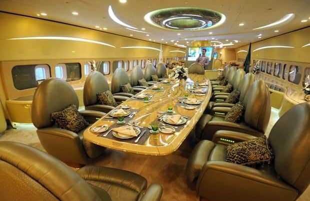 Airbus A380 Private Jet Interior