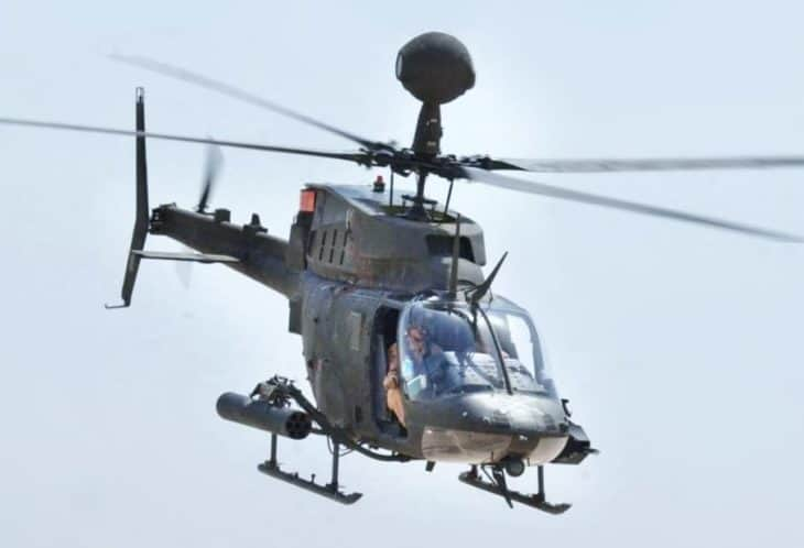 Bell OH-58 Kiowa Warrior