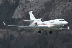 Dassault Falcon 7X of the Monaco Government
