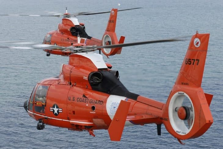 Eurocopter MH-65 Dolphin of the Coastguard