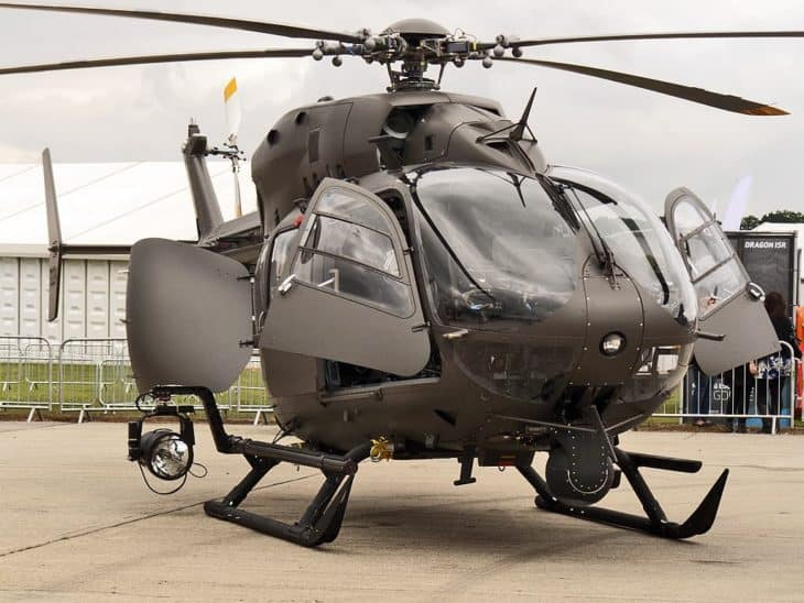 Eurocopter UH-72A Lakota of the US Army