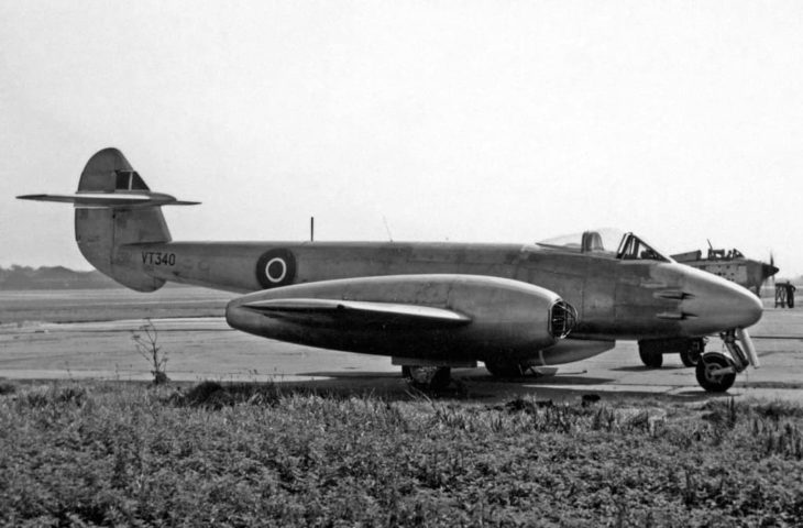 Gloster Meteor F.4 VT340