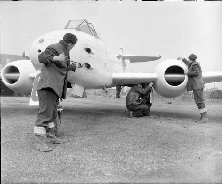 Gloster Meteor Melsbroek