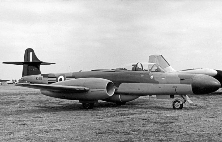 Gloster Meteor NF.14 RAF