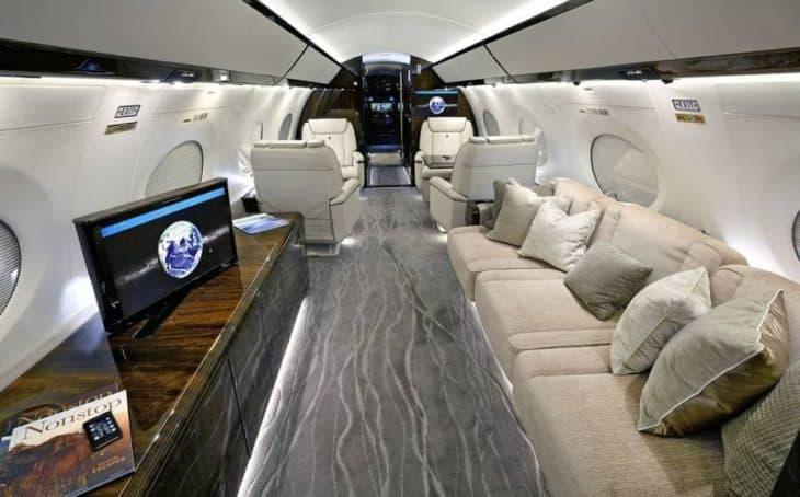 Gulfstream G650ER interior