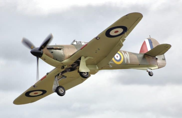 Hawker Hurricane Mk1 Fairford