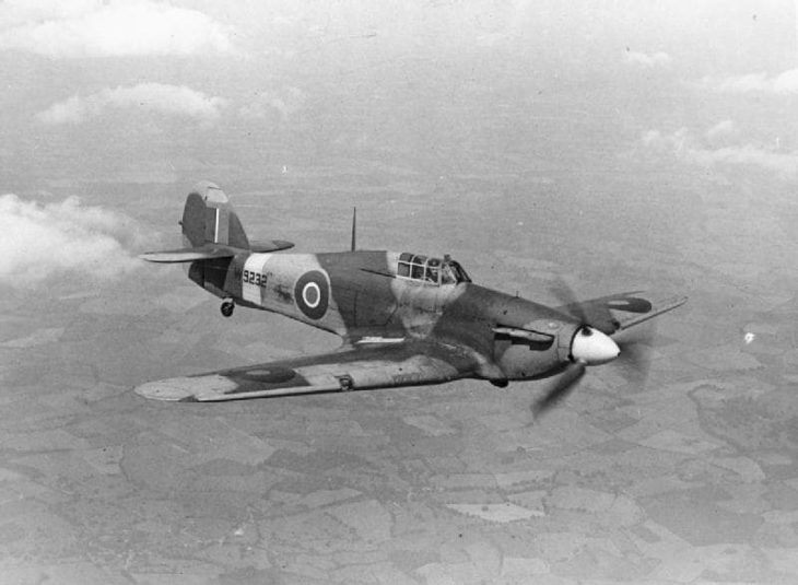 Hawker Hurricane Royal Air Force ww2