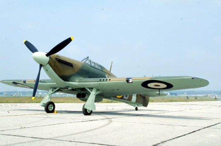 Hawker Hurricane USAF