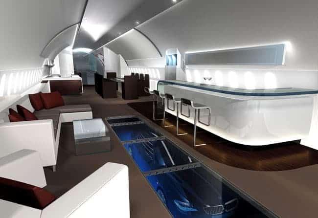 Joseph Lau Boeing 747-8 VIP