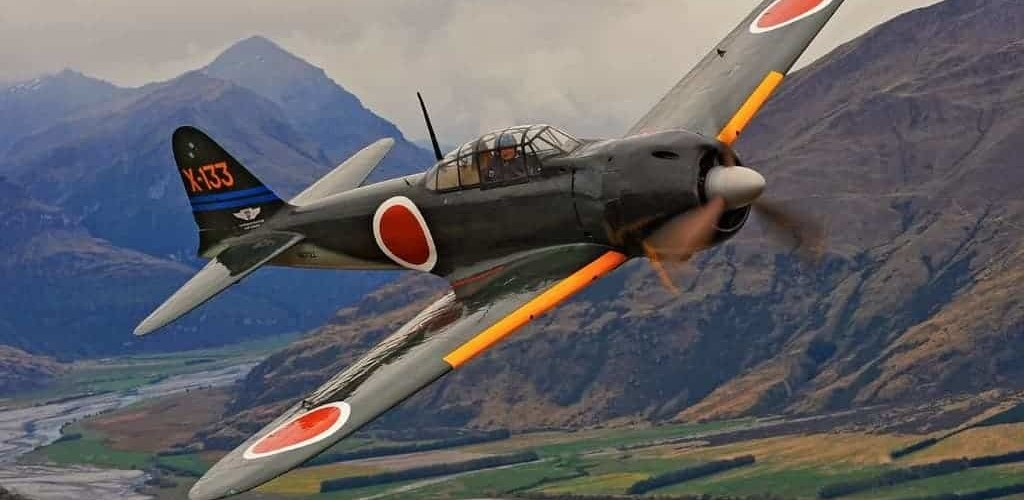 Mitsubishi A6M color