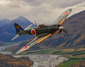 The Superior Japanese Fighter Planes of WW2