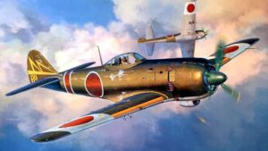 Japanese Fighter Planes of WW2