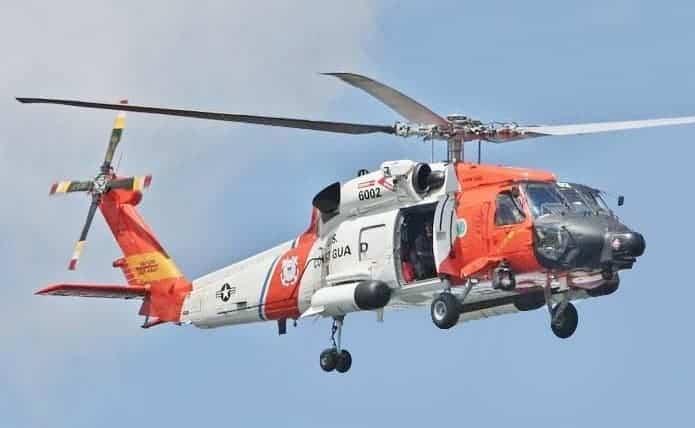 SIkorsky MH-60 Jayhawk Coastguard 2