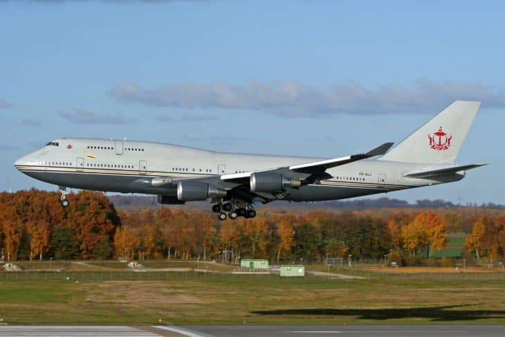 Sultan of Brunei Boeing 747