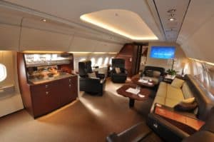 10 of The Most Expensive Private Jets in the World
