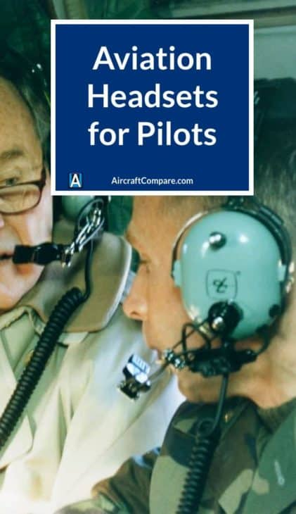 aviation headsets for pilots PIN 2
