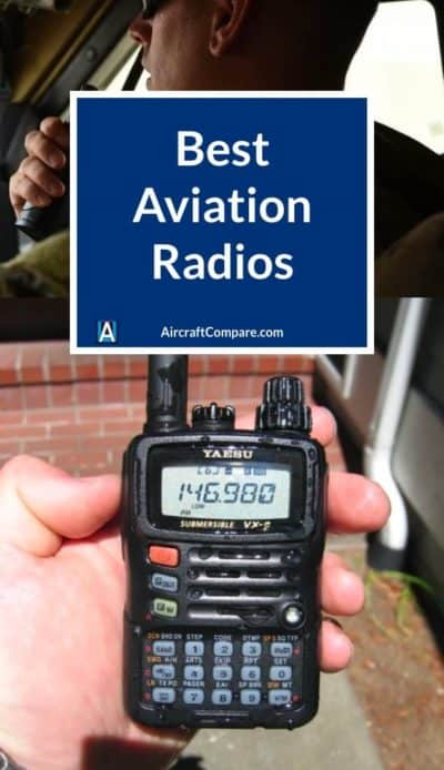 best aviation handheld radios PIN