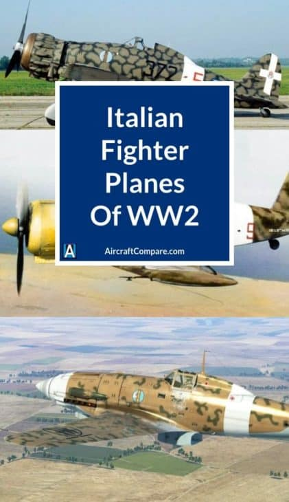 italian fighter planes of ww2 PIN
